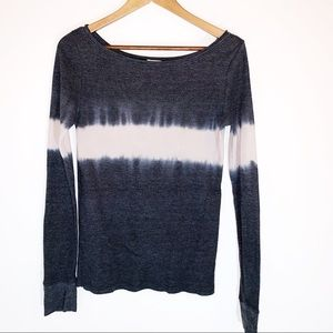 Free people waffle top tie dye sz med great cond!